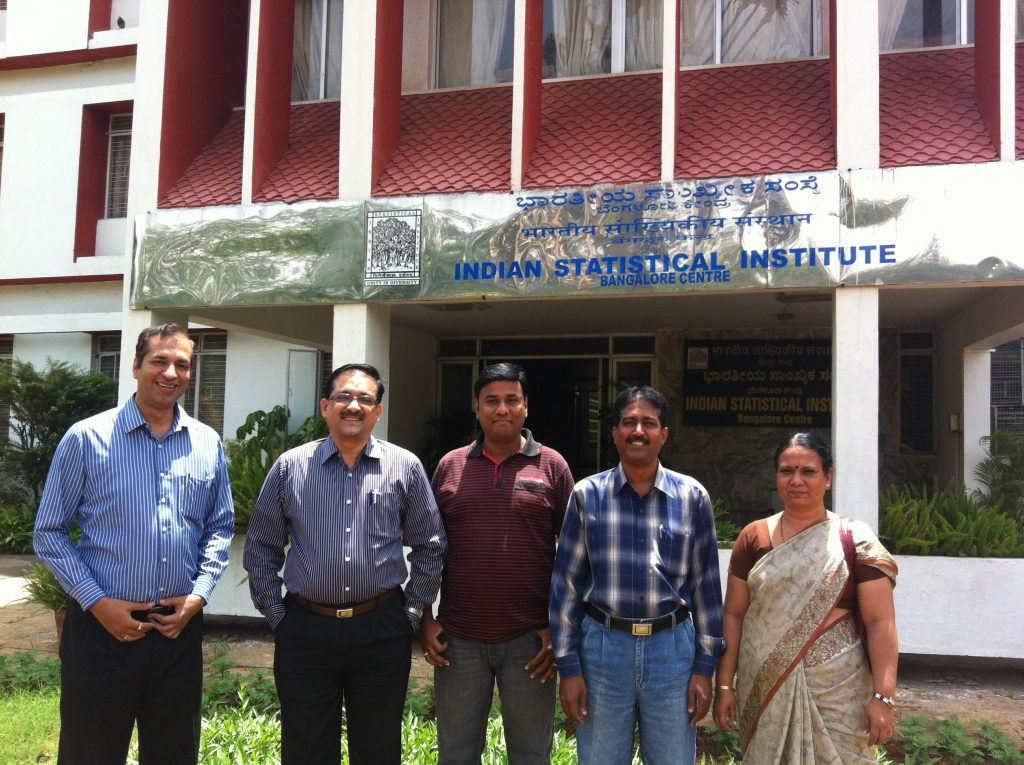 At Indian Statistical Institute, Bangalore