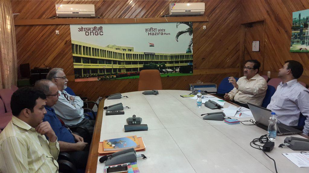 At ONGC, Hazira